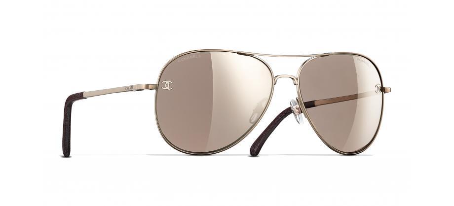 4231ec087df94 Chanel CH4189TQ C3956G 59 Óculos de sol - frete grátis   Estação de sombra