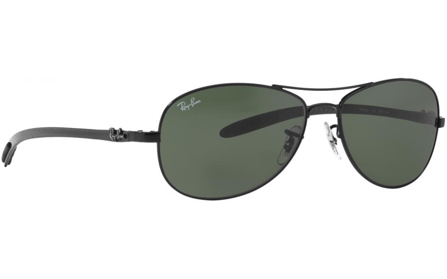 87fe08417 Ray-Ban fibra de carbono Tech RB8301 002 59 Óculos de sol - frete grátis |  Estação de sombra