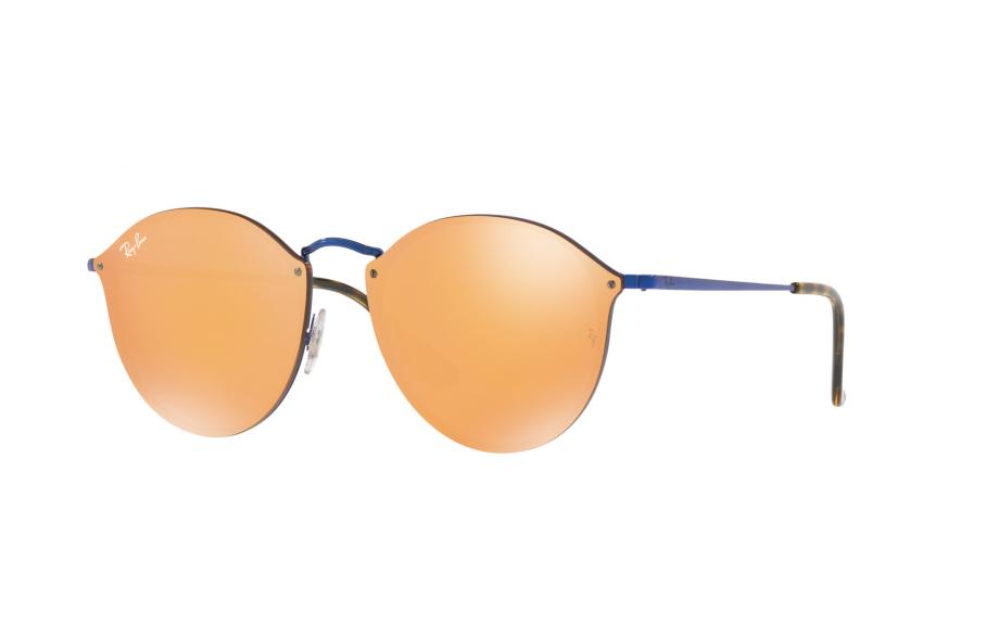 eb45f2a8237ac Ray-Ban Blaze Round RB3574N 90387J 59 óculos de sol - frete grátis ...