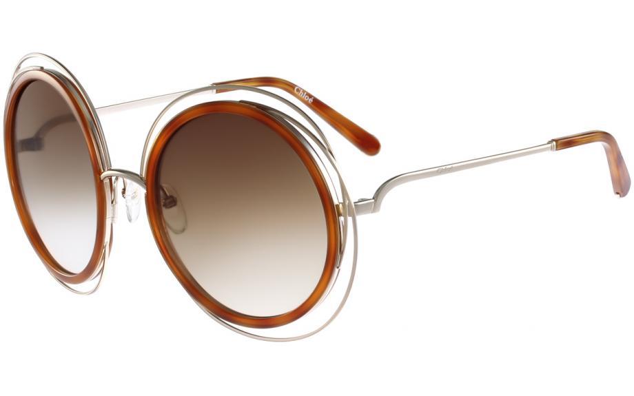 bb3508b7f405a Chloé Carlina CE120S 736 5823 Óculos de sol - Frete Grátis