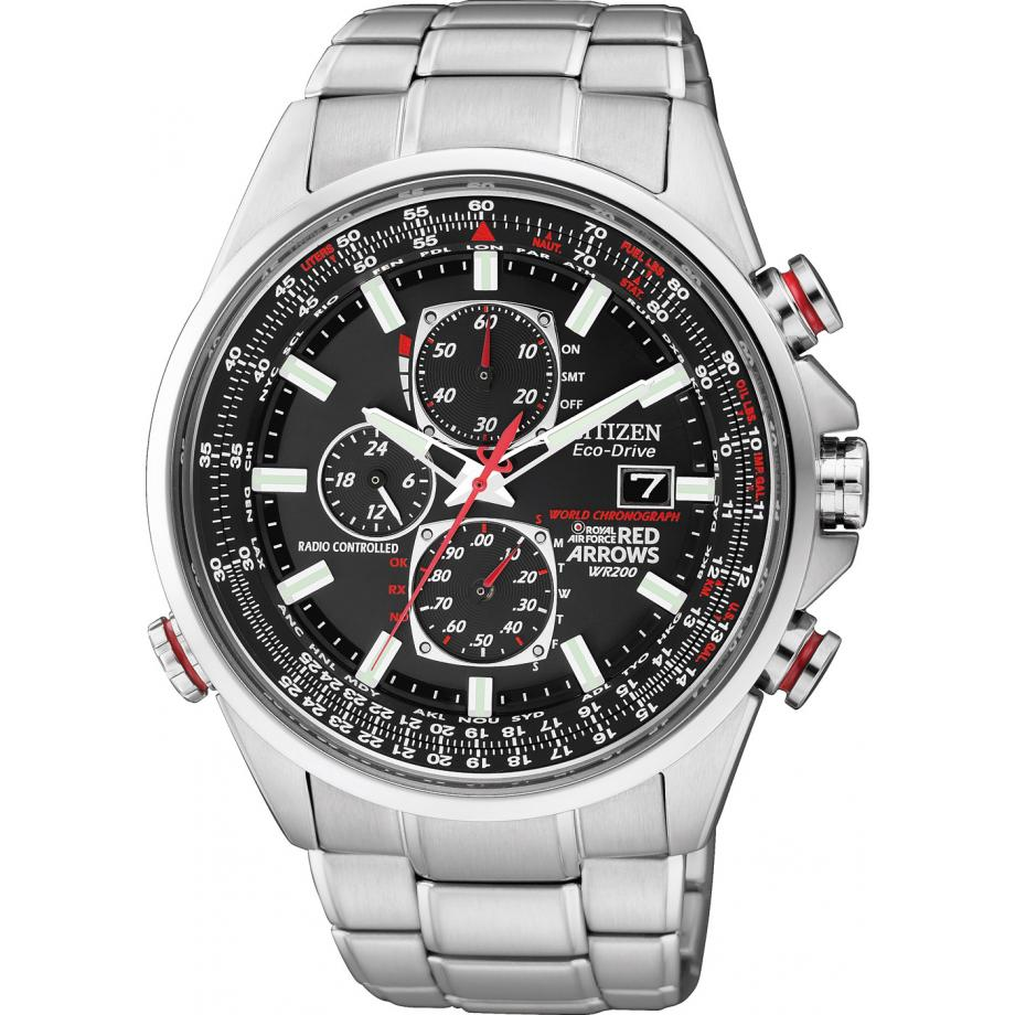 outlet 72fda 6ade5 Citizen Eco Drive Red Arrows A.T D9 Chronograph AT8060-50E Watch